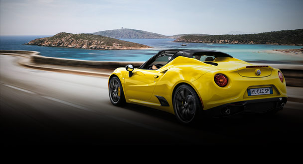 Alfa Romeo 4C Spider to debut at Geneva Motor Show