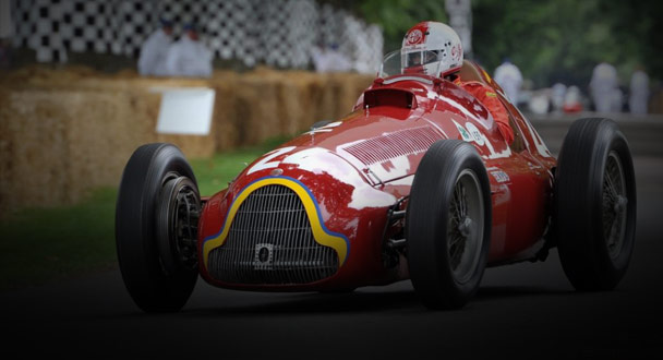 Alfa Romeo Goodwood Greats – Alfa 159 Alfetta
